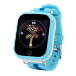 Смарт часы для детей Wonlex Q100 (GW200S) голубые