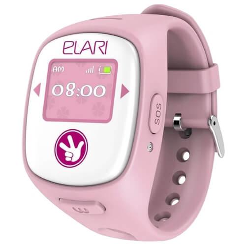 Смарт часы для детей FixiTime 2 розовые с правой стороны