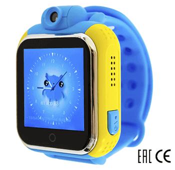 Детские умные часы Smart Baby Watch D10 голубые