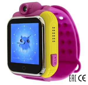 Детские умные часы Smart Baby Watch D10 розовые