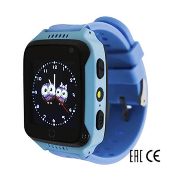 Детские умные часы Smart Baby Watch G100 голубого цвета
