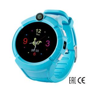 Детские умные часы Smart Baby Watch i8 голубые