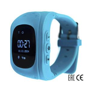 Детские умные часы Smart Baby Watch Q50 голубые