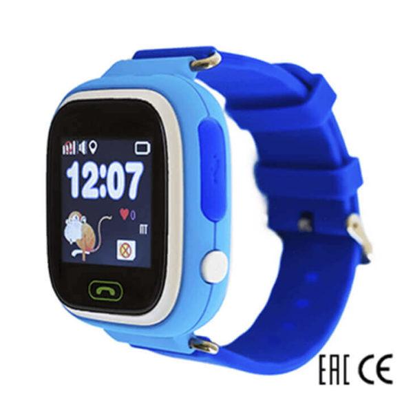 Детские умные часы Smart Baby Watch Q80 голубые
