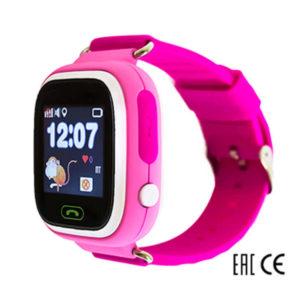 Детские умные часы Smart Baby Watch Q80 розовые