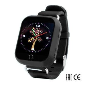 Детские умные часы Smart Baby Watch Q90 (Q100) черные