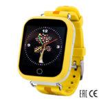 Детские умные часы Smart Baby Watch Q90 (Q100) желтые