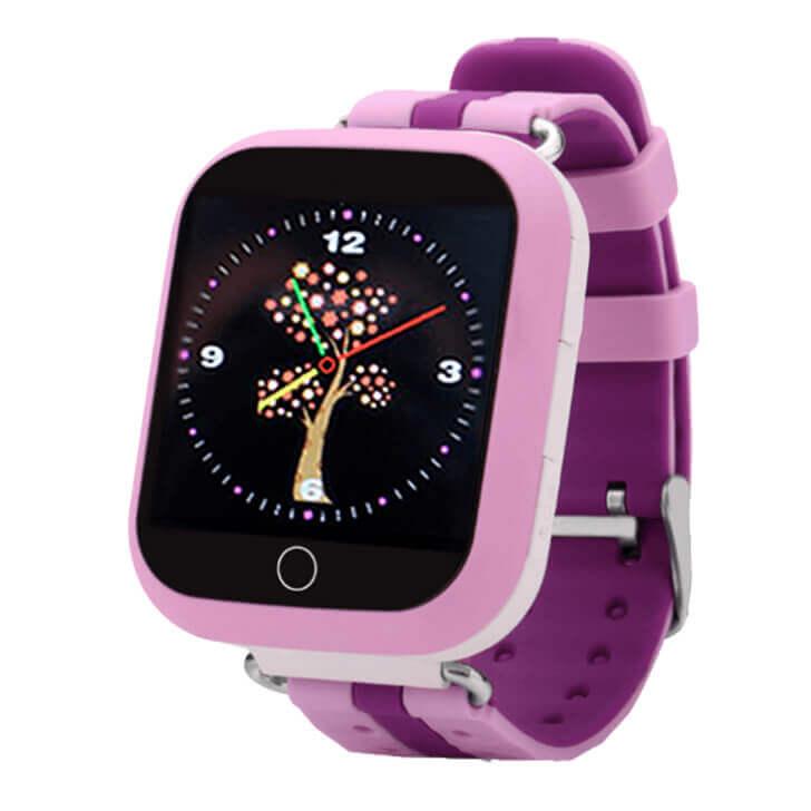 Смарт часы для детей Smart Baby Watch Q90 (Q100) розового цвета с правой стороны