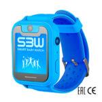 Смарт часы Smart Baby Watch SBW X голубые