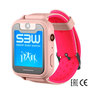 Смарт часы Smart Baby Watch SBW X розовые