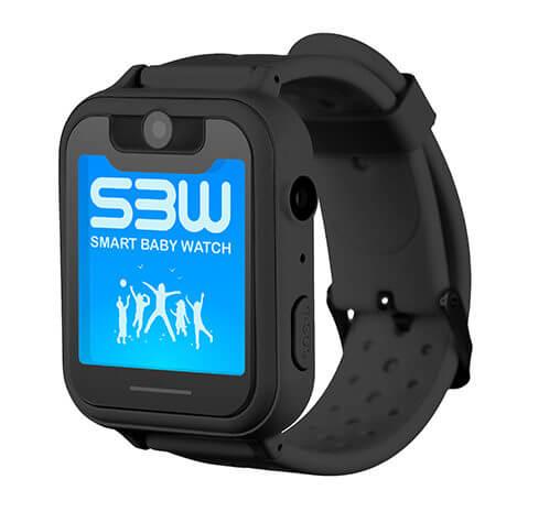 Смарт часы для детей Smart Baby Watch SBW X черные с правой стороны
