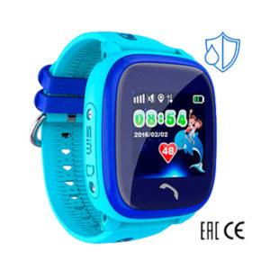 Детские умные часы Smart Baby Watch W9 голубые