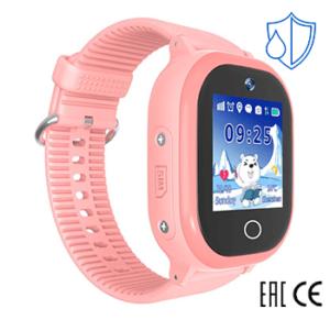 Детские умные часы Smart Baby Watch W9 PLUS розовые