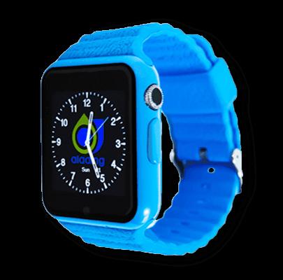 Детские часы Smart Baby Watch X10 голубые с права
