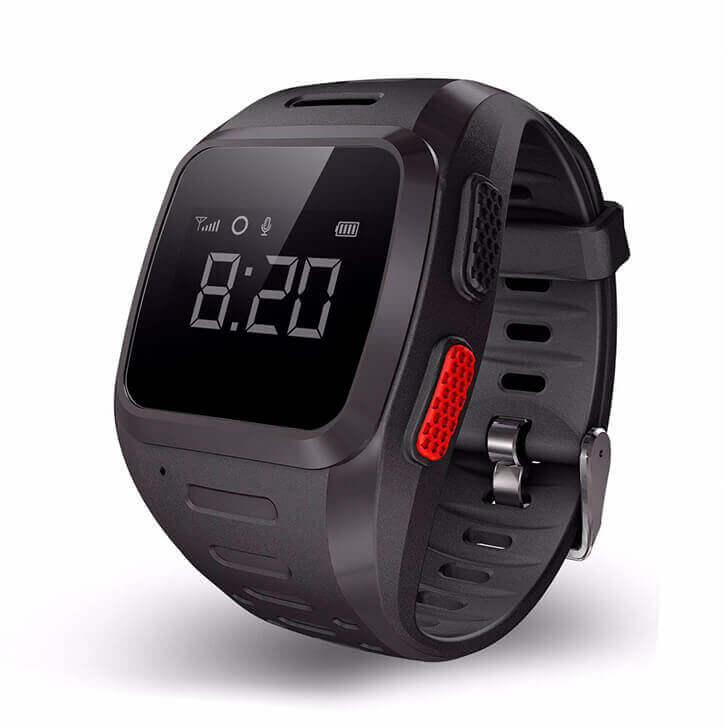 Смарт часы для детей Wochi GOZO черные с правой стороны