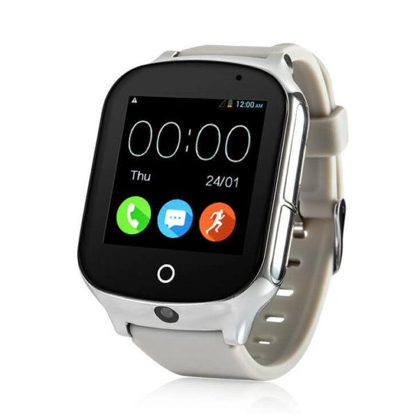 Смарт часы для детей Wonlex T100 (GW1000S, A19) серебристые