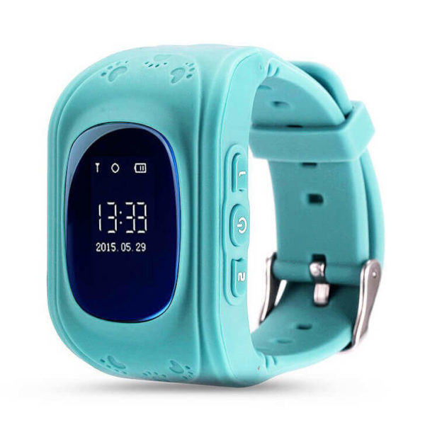 Детские умные часы Wonlex Q50 голубые