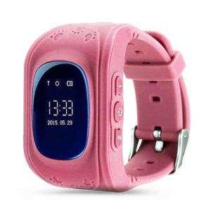 Детские умные часы Wonlex Q50 розовые