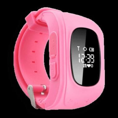 Детские умные часы Q50 розовые