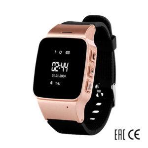 Смарт часы для детей Wonlex EW100 черные