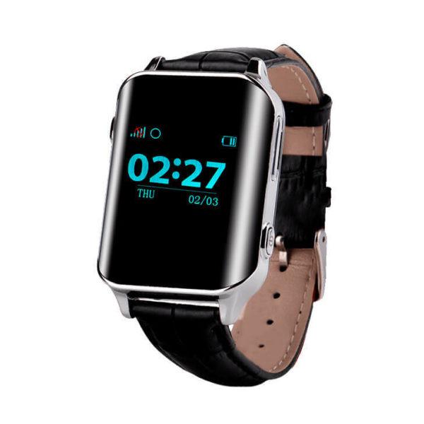 Смарт часы для детей Wonlex EW200 (D100, A16) серебристые