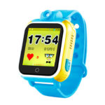 Смарт часы для детей Wonlex GW1000 (Q75, Q200, G10) голубые