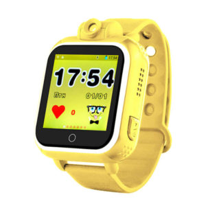 Смарт часы для детей Wonlex GW1000 (Q75, Q200, G10) желтого цвета