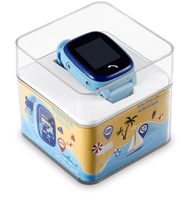 Детские умные часы Wonlex GW400 W9 в упаковке