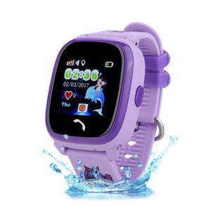 Смарт часы для детей Wonlex GW400 W9 фиолетовый