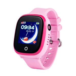 Смарт часы для детей Wonlex GW400X розовые