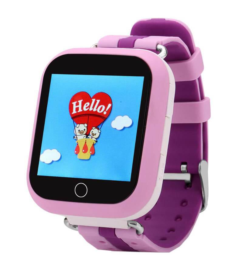 Детские умные часы Wonlex Q100 розовые справа