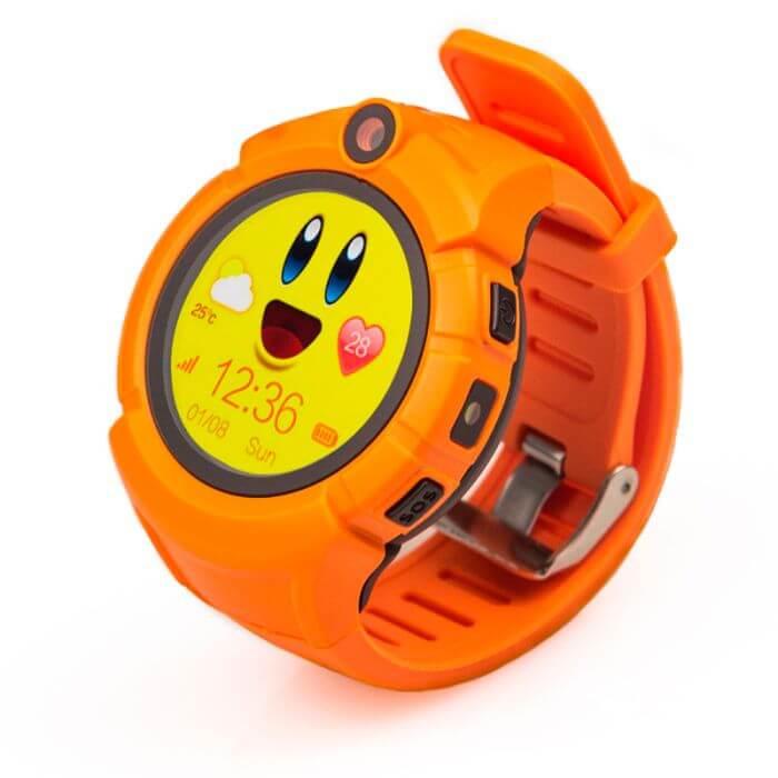 Детские умные часы Wonlex Q360 (GW600) оранжевые справа